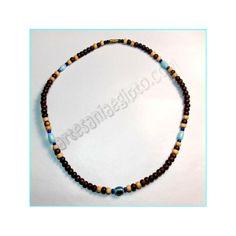 Collar de bisutería \u201cOjo turco\u201d. Amuleto para la protección contra el \u201cmal de ojo\u201d
