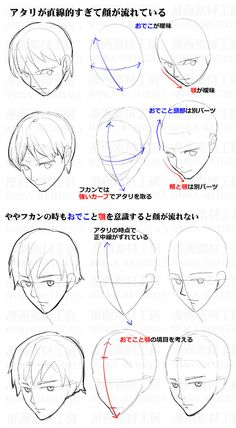 Drawing Tips Side View Drawings Manga Drawing Tutorials, Drawing Tips, Art Tutorials, Drawing Sketches, Art Drawings, Reference Manga, Body Reference Drawing, Art Reference Poses, Drawing Heads
