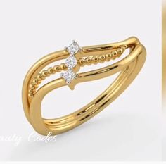 Daily wear gold ring designs for women - The handmade craft Gold Ring Designs, Gold Bangles Design, Gold Earrings Designs, Gold Jewellery Design, Gold Jewelry Simple, Gold Rings Jewelry, Womens Jewelry Rings, Gold Finger Rings, Daily Wear