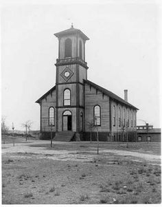 Langdon Hall looked like a church in this picture, taken several years after it was moved to the campus in 1883. In fact, it had been built before the Civil War as a chapel of Auburn Masonic Female College. It originally stood near the present intersection of Gay Street and Magnolia Avenue. It was named in 1889 for Charles Carter Langdon, who had been mayor of Mobile, Alabama secretary of state, and a trustee of the college from 1872 until his death in 1889.