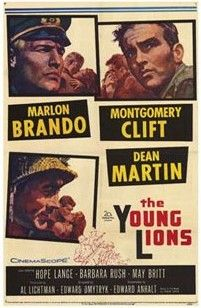 The Young Lions is a 1958 war drama film directed by Edward Dmytryk, based upon the 1949 novel of the same name by Irwin Shaw, and starring Marlon Brando, Montgomery Clift, and Dean Martin. The Young Lions is about the destiny of three young soldiers involved in World War II. A German officer, Lt. Christian Diestl (Marlon Brando), approves less and less of the war, while an American GI, Noah Ackerman (Montgomery Clift), who is Jewish, tries to survive the bigotry he encounters in the…