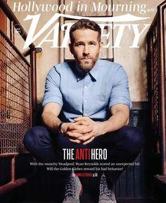 Ryan Reynolds for Variety - Jan 2017
