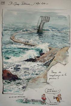 Une bretagne par les contours/ St-Quay-Portrieux