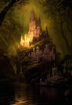 Andrey Shramenko - beautiful enchanted place I would like to go someday..