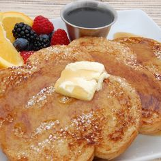 Cracker Barrel Style French Toast: Yield: 4 servings Ingredients: 8 large slices sourdough bread 1 1/2 cups whole milk, warmed (80 degrees) 3 large egg yolks 3 tablespoons light brown sugar 2 tablespoons unsalted butter, melted 1 tablespoon vanilla extract 1/2 teaspoon ground cinnamon 1/4 teaspoon salt