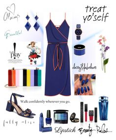 """""""Walk Confidently"""" by soniauk ❤ liked on Polyvore featuring Tory Burch, Milly, Marie Hélène de Taillac, Marc Jacobs, Moschino, OPI, Christian Dior, Gucci, Thierry Mugler and Lipstick Queen"""