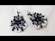 DIY - Peacock Earrings - superduo duet and zoliduo