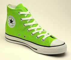 Light Green Converse