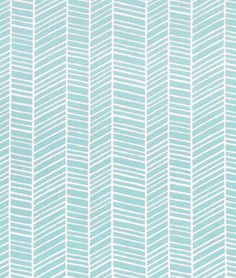 Fabric Designs Joel Dewberry Herringbone Pond Fabric - Herringbone Pond by Joel Dewberry is a lovely chevron quilting cotton print. This fabric can be used for not only quilting but also skirts, dresses, bags, and more.