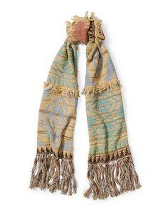 Southwestern Knit Scarf - Polo Ralph Lauren Sale - RalphLauren.com