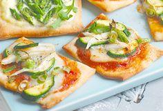 Gemüse-Mini-Pizzen