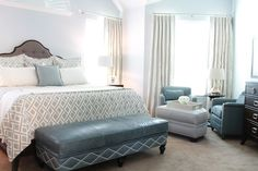 Classic... with a twist: Client Project: Master Bedroom Retreat
