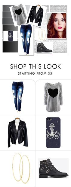 """""""Bad Days :/"""" by jamilly-goncalves on Polyvore featuring moda, Oris, Alexander McQueen, Casetify, Lana e Yves Saint Laurent"""