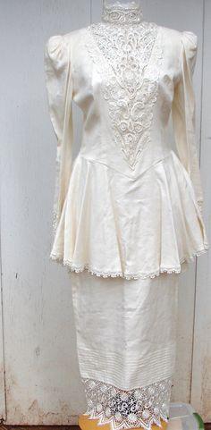 CIERRE VENTA PRECIO ERA 150.00 AHORA 75.00!!!    Como la nueva condición. Vintage Jessica McClintock  Vestido de novia, vestido de Dama de