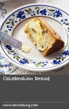 Celebration bread | This bread is flavoured with saffron, which benefits from an overnight soak. Make sure to remove all the saffron from the soaking dish, and use a spatula to get out all the cream from the pan, or you'll lose flavour. The bread takes a while to rise, as it's heavy from the butter and cream, hence 2 packets of yeast. If you live in a very warm climate, try using one packet. The bread takes 6 hours to prove, so don't start too late as it has to be baked the same day. It's best e Saffron Recipes, Sage Recipes, Dishes Recipes, Tasty Dishes, Best Fish Batter, Fish Batter Recipe, Flavored Butter, Butter Recipe, Baked Liver Recipes