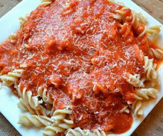 An inspired collection of my favorite dishes with my instinctual touches added...: Slow Roasted Speghetti Sauce