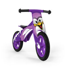 DUPLO PINGUINO - bicicleta de madera sin pedales - www.e-funkybaby.es #efunkybabyes #bicicleta #bici