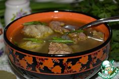 Суп с гречневыми фрикадельками - кулинарный рецепт