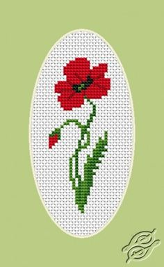 Poppy - Cross Stitch Kits by Luca-S - B0161                              …