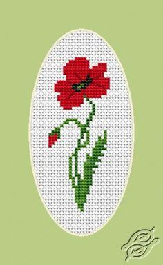 Poppy - Cross Stitch Kits by Luca-S - B0161