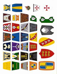 lego decals Lego Decals, Lego Castle, Lego Minifigure, Everything Is Awesome, Custom Decals, Cool Lego, Lego Creations, Little People, Legos