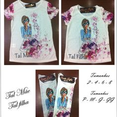Moda santa sofia tal mãe tal filha visitem nosso site www.modasantasofia.com.br