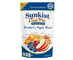 A delicious blend of blueberries and apples in a convenient bag for on the go snacking! Try #SUNKIST® BLUEBERRY APPLE TRAIL MIX REDEFINED(8 Pack)