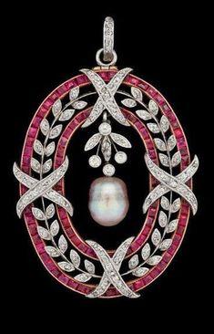 Beautiful Brooch Pearl Pink Baguette Leaf Cross Style 925sterling silver jewelry #NikiGems #silverjewelry #SterlingSilverJewelry #sterlingsilverjewelryjewels