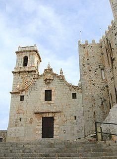 Ermita de la Virgen de la Ermitana, Santa Maria, Peniscola, Spain.JPG