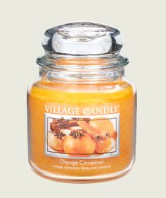 We Have The Best Orange Cinnamon Scented Candles Available In A Variety Of Shapes And Sizes Including Our Famous Jar Visit Village Candle To