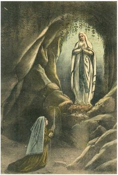 Jesus Mother, Blessed Mother Mary, Blessed Virgin Mary, Religious Images, Religious Art, Santa Bernadette, Redeeming Love, Christian Friends, Our Lady Of Lourdes