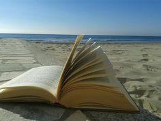 Relax on the beach with a book.