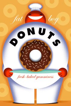 bob staake.  At least the fat boy part isn't false advertising.