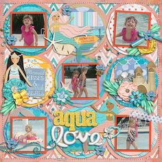 Mermaid Dreams by Brook Magee and Misty Cato *FREE with your $15 Purchase* Not All Who Wander by Zoe, Misty, Erica, Yari, Brook & La Little Sew & Sew Lines by Erica Zane Extra Alpha from Hello Summer by Zoe Pearn Alphabitties No. 1 by Traci Reed, retired