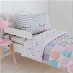 Cot Quilt Cover Set - Swan | kmart | Pinterest | Nursery and Quilt ...