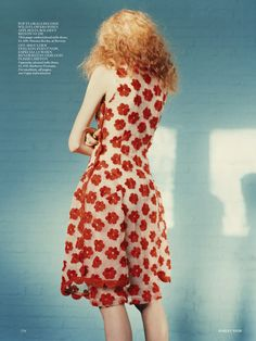 The Misfits by Harley Weir For Uk Vogue March 2015 - Simone Rochas