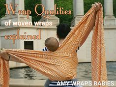 "AmyWrapsBabies.com explains the words collectors use to describe their wraps -- ""grippiness,"" ""floppiness,"" etc. Read this and you won't be confused any more!"