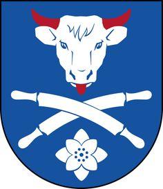 Coat of arms of the municipality of Svenljunga, Sweden
