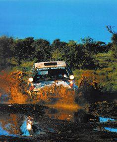 "Lancia Delta - ""In Safari you don´t take the win - the win comes to you."" - Juha Kankkunen"