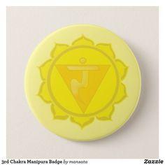 Shop Chakra Manipura Badge created by mansata. Positive Thinker, Detail Shop, Holiday Photos, Mandala Art, Plexus Products, Chakra, Art Pieces, Buttons, Unisex
