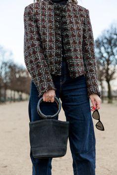 Парижский стиль, жакет Chanel, тренды 2018