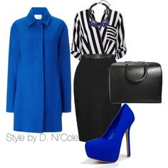 A fashion look from November 2014 featuring Wallis tops, J. JS Lee coats and Breckelle's pumps. Browse and shop related looks.