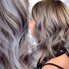 Silver/grey hair color is a huge trend this year, but it can be hard to pull off in real life. When stylist Hollie Jacques had a client come in wanting to ...