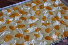 Hrníčková litá buchta s tvarohem a mandarinkami - snadnepecivo Yummy Treats, Sweet Recipes, Tiramisu, A Table, Macaroni And Cheese, Sweet Tooth, Food And Drink, Pudding, Pie