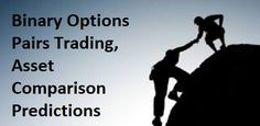 Pair option is the process of determining how one instrument trade is best performing based on their relation to other such as Google vs. Yahoo, Oil vs. Gas.