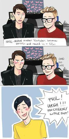 Tyler is like, I ship it!!