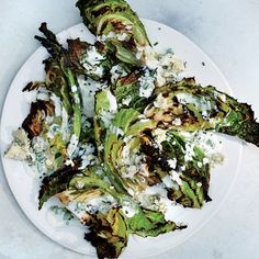 Savoy Cabbage Wedges With Buttermilk Dressing - BA 7/16