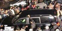 Tahir ul Qadri lands in Lahore