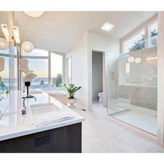 Modern Bathroom Design, Bathroom Interior, Bathroom Ideas, Bathroom Pictures, Bathroom Designs, Bathroom Organization, Bath Design, Shower Designs, Bath Ideas