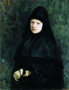 Nun, 1878  Ilya Repin